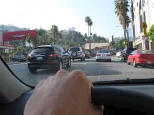 LAでのドライブ