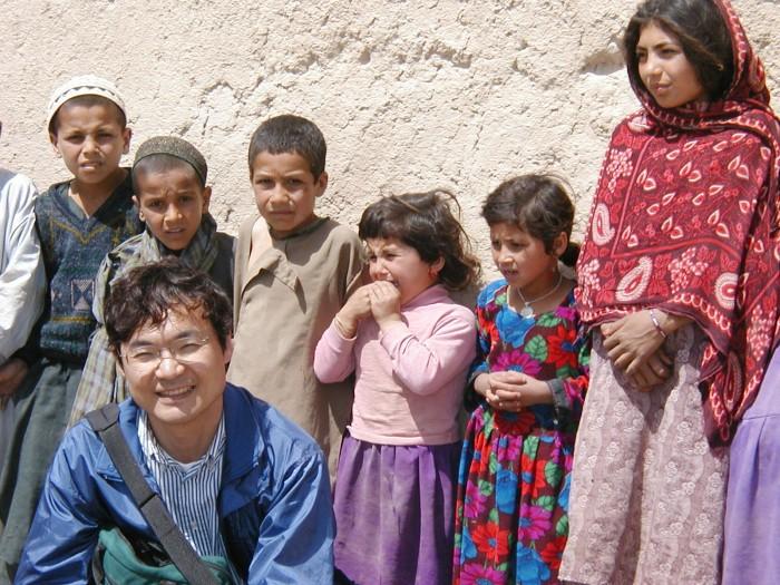 アフガンにて 2002年