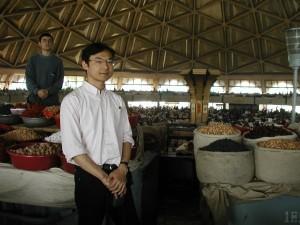ウズベキスタンの乾物市場
