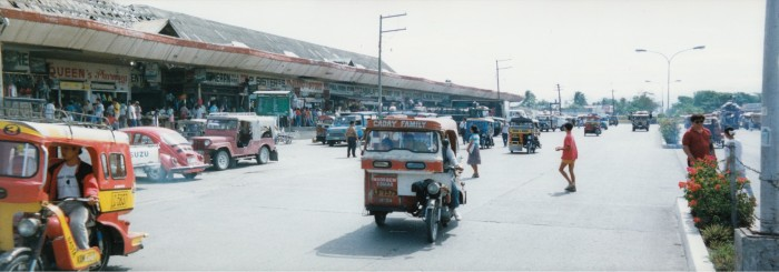 市場の様子です(1992年)