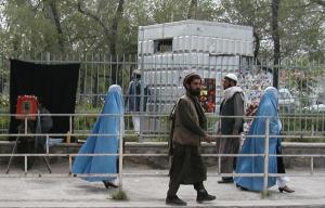 2002年のカブールの街
